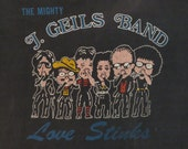 J GEILS BAND 1980 tour T SHIRT