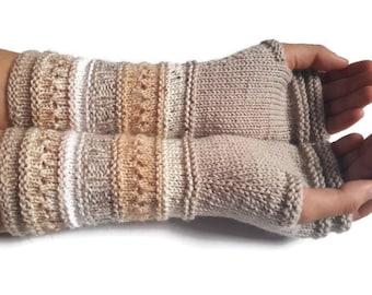 Fingerless gloves - Arm warmers - Womens Fingerless - Long Fingerless Mittens - Wrist warmers - Hand warmers  