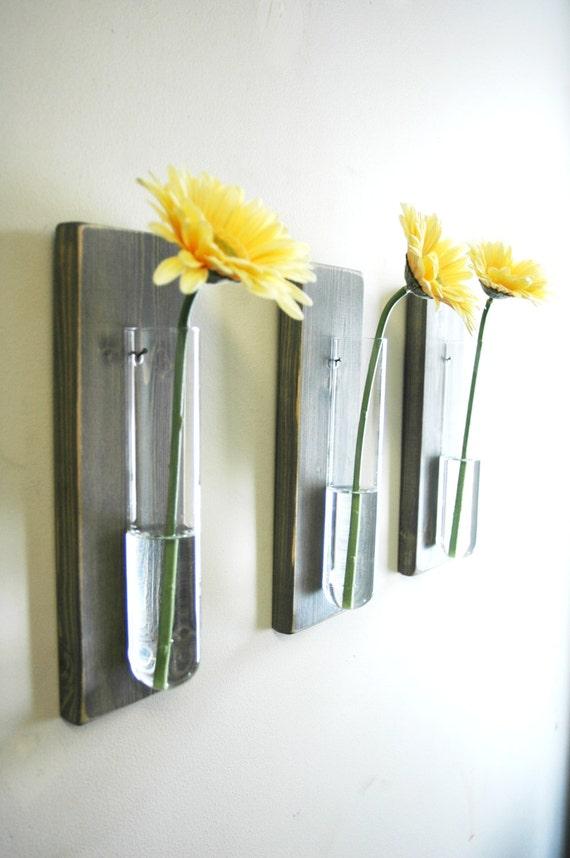 Glass Beaker Wall decor rustic decor modern kitchen kitchen