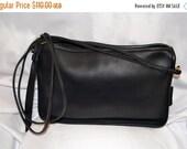 Summer Blow Out Vintage COACH Bonnie Cashin Shoulder Bag Clutch Excellent Condition Black Unisex Made in the USA