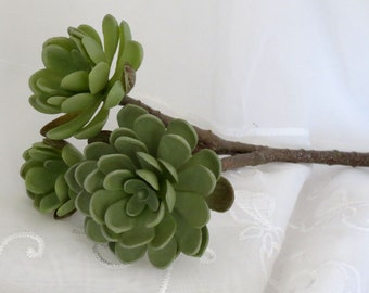 Hen and Chicks Succulent Artificial Plant