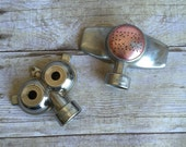 Vintage Set of Metal Spray Lawn Sprinkler