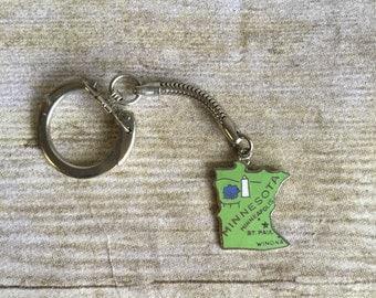 Vintage Minnesota  Keychain