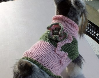 Cat or Dog Sweater SALE  Small 11 inches long