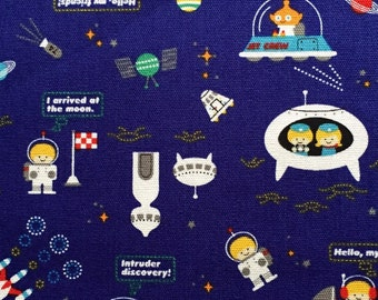 Push the pin fabric plane Japanese cotton fabric FQ