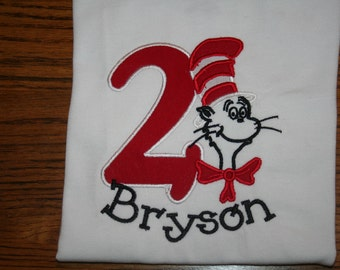 Dr. Seuss Birthday Shirt