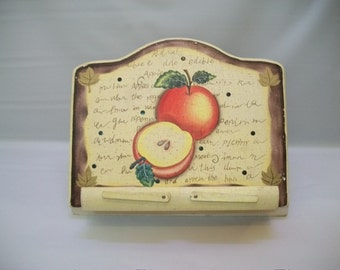 vintage rustic recipe book holder shabby chic recipe book holder tablet holder