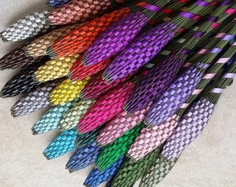 Lavender Wands - Ten (10) Huge Baton Lavandula 'Provence' Assorted Colors FREE SHIPPING USA