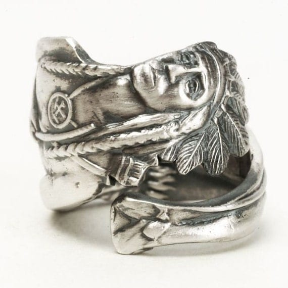 ring silver Master sterling chief