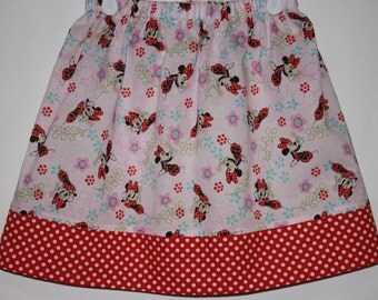 Minnie Mouse Skirt   Size 2 to 8