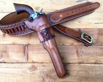 Wyatt Earp Buntline Holster and Belt.