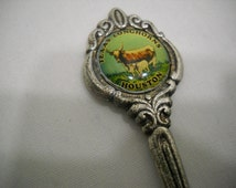 Texas Longhorns Houston Collectible Souvenir Spoon