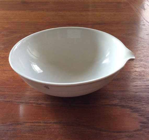 Plato de porcelana blanca de laboratorio qu mica vintage for Platos porcelana blanca