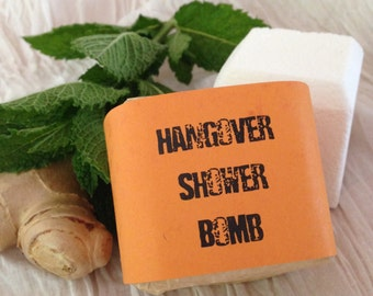 Hangover Shower Bomb - Aromatherapy - Spa Treatment
