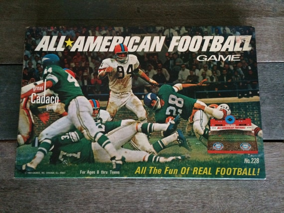 Items Similar To Vintage ALL AMERICAN Football Game No.228
