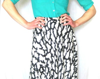 100% Silk Vintage Skirt