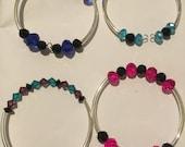 Custom order for Michelle for a total of 5 bracelets