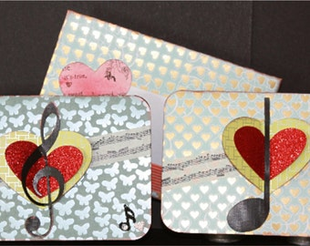 Love Notes Cards, SVG Cutting File Kit
