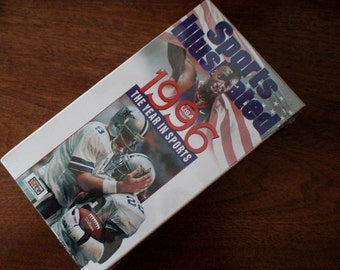 Sports Illustrated 1996 The Year in Sports VHS Tape, Sealed, Unopened, New Stock