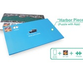 Harbour Piece (Puzzle with App) - a puzzle can show the development of our harbour from the past to present in 3D format