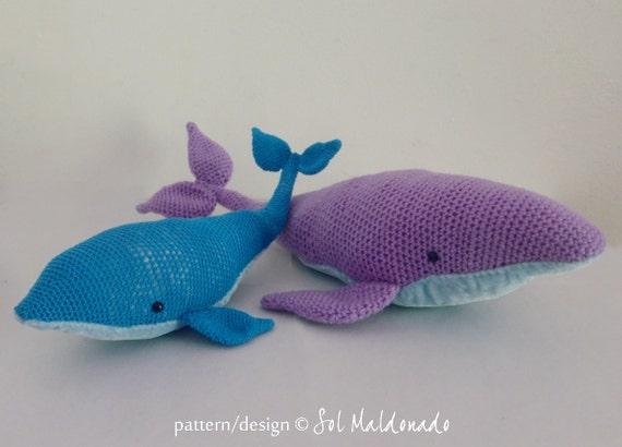 Big Whale Amigurumi : Amigurumi Crochet Pattern Whale PDF - Blue Whales ...