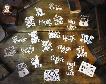 22 Miniature Templates (to fit Ikea Tysslinge frames)