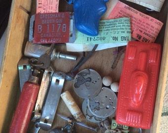 Grandpa's Junk Drawer Is Full Of Vintage Findings And Memories