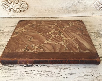 The New Yorker - Bound Newspaper Book from 1837 - Great as Wedding Guest Book, Scrapbook or Display Book