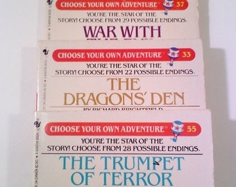 Choose Your Own Adventure Books, Set of 3