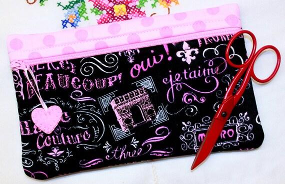Side Kick Paris Chalk Art Bag