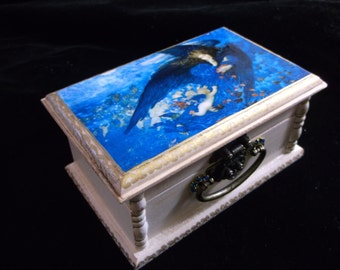 A Night With Her Train Of Stars Jewelry Box Trinket Box Collectable Box