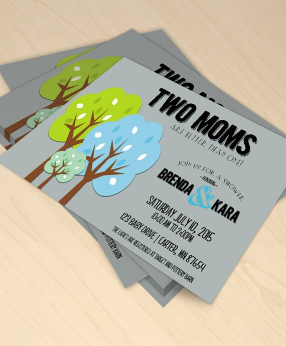 Two Moms Are Better Than One Printable Baby By