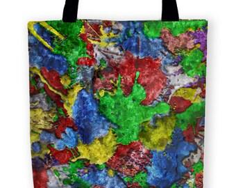Colorful BANGARANG Carryall Tote Bag