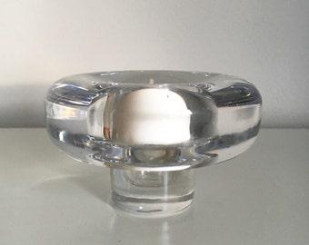 SALE Jens Quistgaard Dansk Designs Lead Crystal Candle Holder