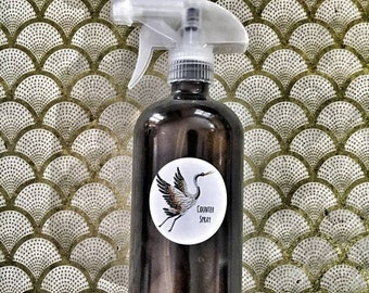 Counter Spray-Hard Surface Spray/Disinfectant- All Natural Surface Cleaner- Essential oils Counter Spray- All Purpose Cleaner