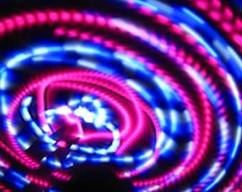 Cupcake LED hoop, by Moodhoops