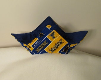 Blues Microwave Bowl Hot Pad Cozy