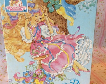 Vintage 1980s 63pc Lady Lovely Locks Puzzle
