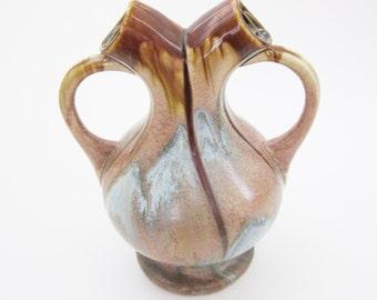 Belgium Wedding Vase Studio Pottery Faiencerie Thulin Art Nouveau - FL