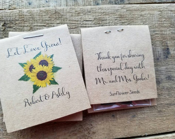mini rustic wedding reception favors bridal shower favors cutest little inexpensive seed packets with