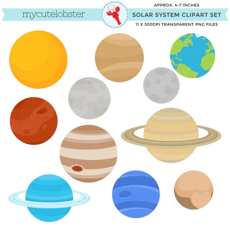 solar system clipart - photo #5