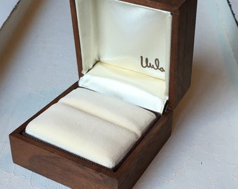 Vintage ring box Etsy