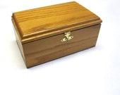 Jewelry Box Mens Womens Wood Valet Cuff Link Storage