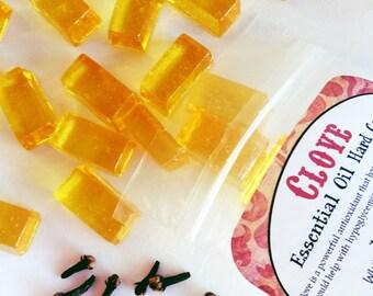 CLOVE,  Essential Oil Hard Candy, 5 oz