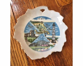 Virginia Beach Small Decorative Catch All Dish
