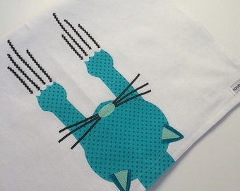 Kitty Cat Kitchen Towel, cat scratch fever