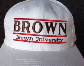 1990's Brown University snapback hat