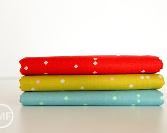 Picnic Ant March Half Yard Bundle, 3 Pieces, Melody Miller, Cotton+Steel, RJR Fabrics, 100% Cotton Fabric, 0023