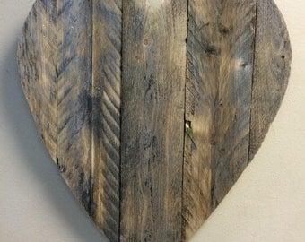 Rustic Wooden Heart