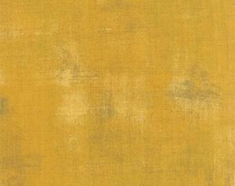 Fabric by the Yard-- Grunge Basics in Mustard-- by Basic Grey for Moda